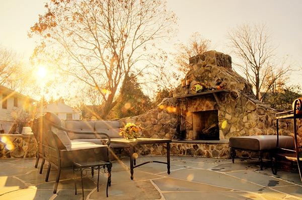 outdoor custom home design