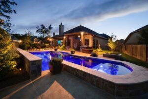 outdoor custom pool