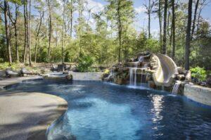 outdoor pool custom design