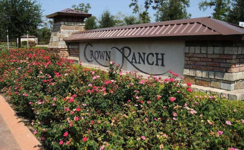 Crown Ranch neighborhood entrance.